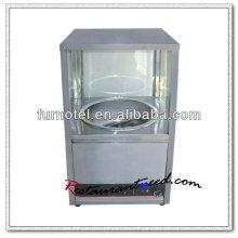 K507 Counter Top 1 Caldera Máquina de tostado de castañas de acero inoxidable