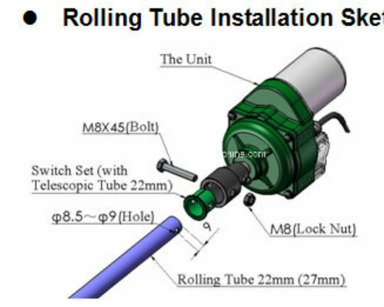 Rolling Tube Installation