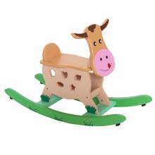 Wooden Calf Schaukel Reiten Spielzeug