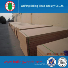 Low Price Melamine Coated Chipboard/Raw Chipboard with High Quality