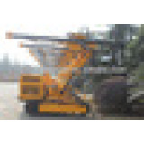 Crawler Drilling Rig with 4 cylinders Diesel motor HC726A