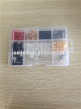 transparent accessories clear plastic bead storage box                                                                         Quality Assured