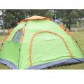 Tente de camping portable 3-4 personnes automatique 2 portes 3 fenêtres