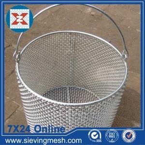 Edelstahl-Maschendraht-Korb China-Hersteller