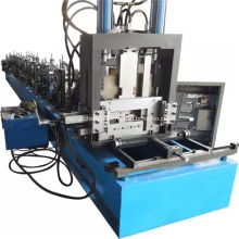 Galvanized Bottom Plate Stereo Garage Roll Forming Equipment
