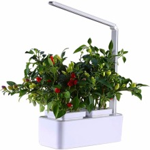 Smart Led Light Hydroponic Systems indoor Garden  Flower Pot