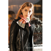 fashionable hand knitted scarf patterns made in China