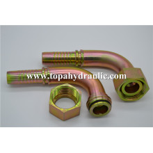 Metric hydraulic pneumatic hose brass parker fittings