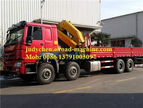 16T Truk Knuckle Mounted Crane SQ16ZK4Q