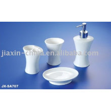 Porcelain bathroom accessories set JX-SA707