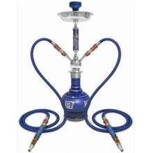 Hot Sales Hookah Shisha Pipe pour fumer la couleur bleue (ES-HK-096)