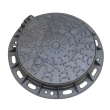 Best Price for for Manhole Cover DI Round patterned Manhole Cover With Frame export to Saint Vincent and the Grenadines Factories