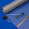 Malha de aço inoxidável da tela do filtro de óleo do Weave liso