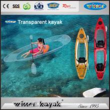 100% Transparente Kayak Asientos individuales / dobles