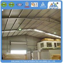 Overseas popular fácil de mantener proyectos de construcción de bajo costo de la escuela
