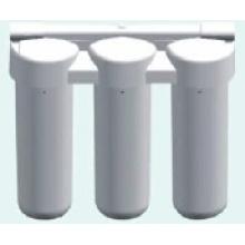 Purificador de água de 3 estágios para uso doméstico