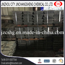 Metal Sb 99.85% min lingote de antimonio de alta calidad de 25 kg cada uno