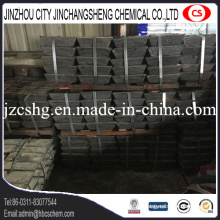 Metal Sb 99.85%min antimony ingot high quality 25kg each