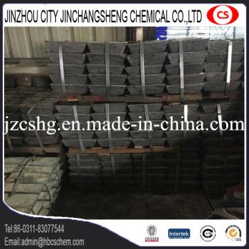 Metall Sb 99,85% min Antimon Barren hohe Qualität 25kg jeder