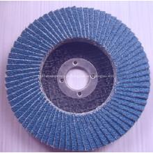 Bom desempenho use disco de aba abrasivo