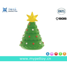 Nature Rubber Christmas Tree Pet Gift Toy