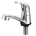 Water Tap with Chromed Surface
