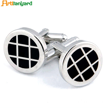 Customized Metal Cufflink For Party