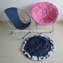 high quality Living Room leisure Furniture Fabric Moon chair