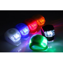 Impermeável LED bicicleta luz traseira da lâmpada