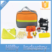 HF-4003 Hot Sale 19PCS Car Emergency Kit Outdoor Emergency Survival Tool Car Repair Safety Tools Kits (CE certificates)