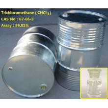 buen precio chcl3, envasado en tambor de acero galvanizado 99,9% de pureza