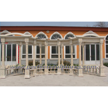 Stone Marble Garden Gazebo for Outdoor Furniture (GR046)