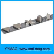 Großhandelsherzform magnete Neodym spezielle Formmagneten