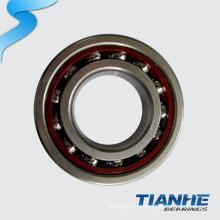 Peças da motocicleta da importação Rolamentos de esferas angulares do contato da única fileira