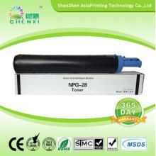 Cartucho de tóner de copiadora compatible para Canon Gpr18