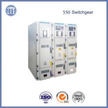Appareillage de commutation blindée 550 isolation solide modularisée Omni-scellé