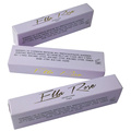 Gold Hot Stamping Purple Paper Lipstick Box