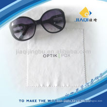 80%polyester 20%polyamide glasses cleaning cloth with LOGO printing