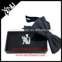 Papier fait en gros cadeau Bow Tie Boxes