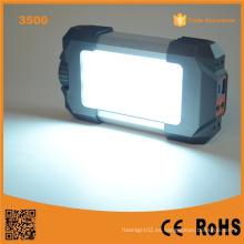 Lumifire 3500 portátil y linterna de camping LED con carga de teléfono USB