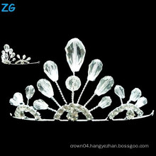 Yiwu Zhanggong crystal wholesale beauty pageant wedding using small wedding tiara