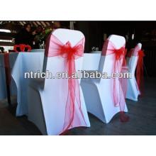Graceful elastic wedding spandex lycra chair covers