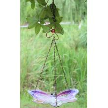 Insect glass bird feeder