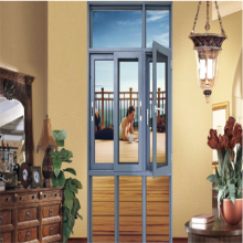 Aluminum Swing Window with Diamond Mesh