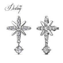 Eco Friendly Alexius North Star Dangle Drop Earrings for Girls