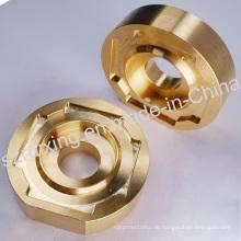 Messing CNC Machinining Teil für industrielle Komponenten
