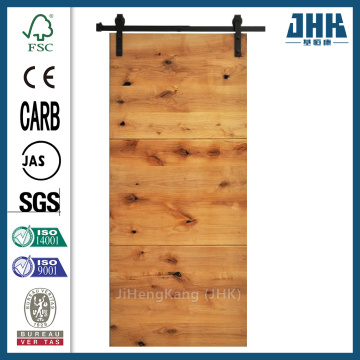 JHK Low Cost Wood Panel Barn Door