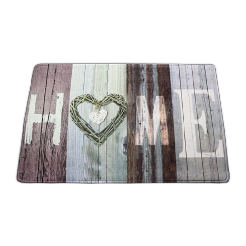 washable home design doormat