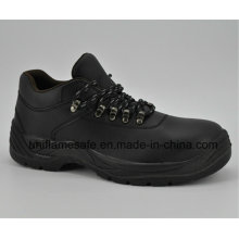 Ufb058 Black Steel Safety Shoes Safety Footwear
