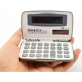 JS-12H dual power 12 digital small calculator